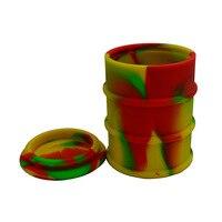 500 мл масла Барабаны bho силикона воск контейнер для бутан/slick масло/концентрат без рукояти силикон dab масла jar recipiente де silicona