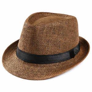 b550a6e3b90 MIARHB Men Women Summer Sun HatS Cap Beach Straw Hat Sunhat