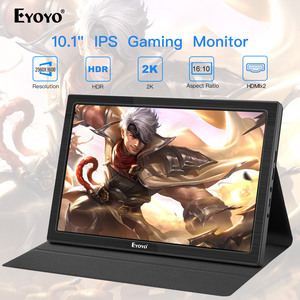 """Image 1 - 10"""" inch Portable Monitor 2560x1600 Mini HDMI LCD Display for PS4 Xbox360 LED moniteur computer scherm laptop raspberry monitor"""