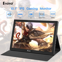 10 inch Portable Monitor 2560x1600 Mini HDMI LCD Display for PS4 Xbox360 LED moniteur computer scherm laptop raspberry monitor