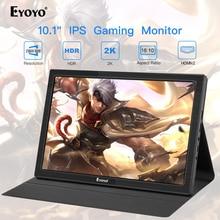 "10 ""polegadas monitor portátil 2560x1600 mini hdmi display lcd para ps4 xbox360 led monitor de computador monitor de framboesa"