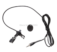 лучшая цена Pro Lavalier Lapel Clip-on Microphone For i -phone etc. Smartphone record 3.5mm TRRS Jack