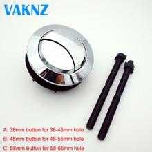 Двойная кнопка бака для туалета, круглая кнопка для туалета, аксессуары для ванной комнаты 58 мм/48 мм/38 мм
