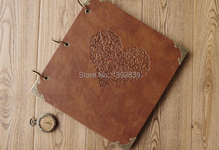 Haute qualité en cuir mode fait à la main bricolage cadeau autocollant noël pour Album Photo coin autocollants Album Scrapbook papier 25 feuilles