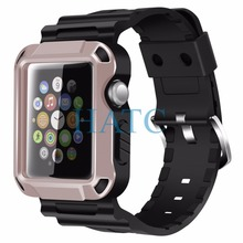 NEW Rugged Protective Case with Strap Bands for Apple 38mm/42mm