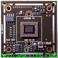 "AHD-M 1280x720 1/3 ""sony exmor cmos sensor de imagem + nvp2431 imx225 cctv câmera pcb módulo board + cabo + 3.0mp cs osd len + irc"