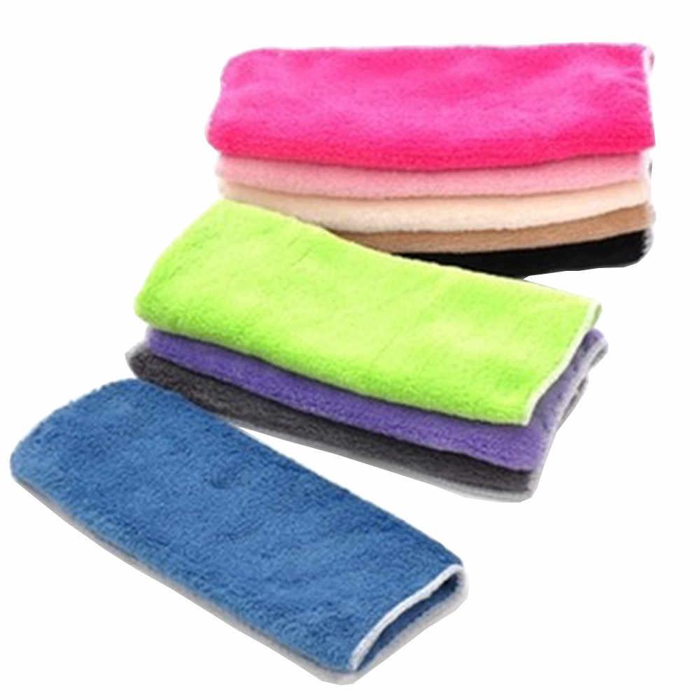 مكافحة الشحوم القماش ألياف الخيزران غسل منشفة سحرية المطبخ تنظيف قطعة قماش للمسح