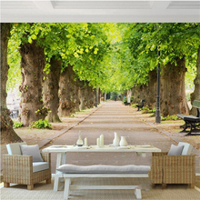купить 3d wallpaper custom mural non-woven 3d room wallpaper forest road 3 d space background wall photo 3d wall murals wallpaper по цене 576.41 рублей