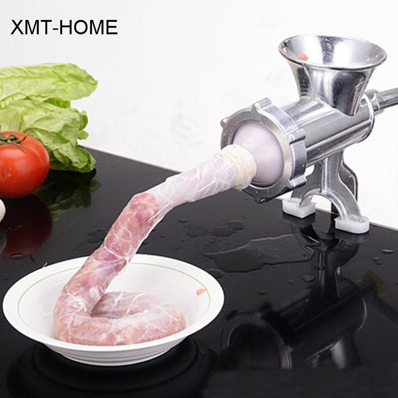 XMT HOME Handleiding worstvulap filler machine behuizing voor worstomhulsels vlees stuffers worstmaker ham druk-in Vleesmolen van Huis & Tuin op  Groep 1