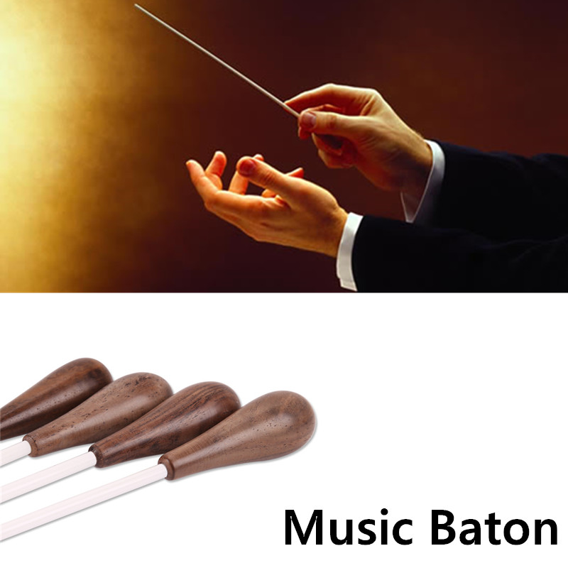 Durable Wooden Orchestra Choir Conductor Symphony Baton Lightweight Choral Director Wand