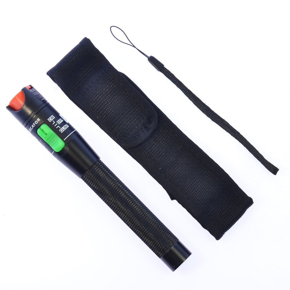 Visual Fault Locator Fiber Optic Laser Cable Tester 30mW 27KM