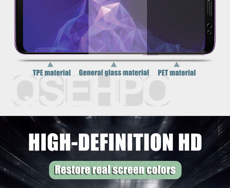 9D Full Cover Soft Hydrogel Film For Samsung Galaxy Note 8 9