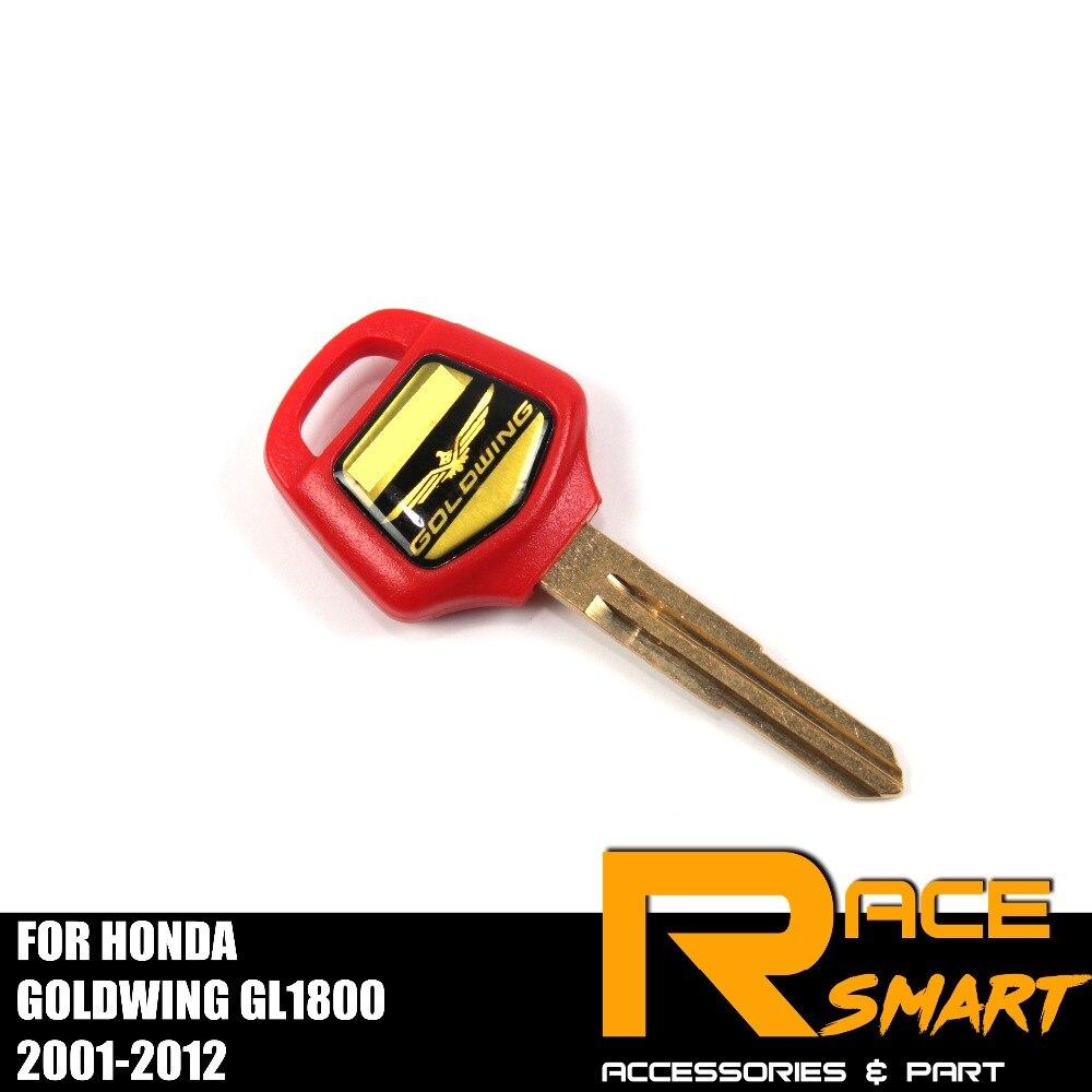 Motorcycle Uncut Blank Key For HONDA Goldwing GL1800 Blade Keys GL-1800 GL 1800