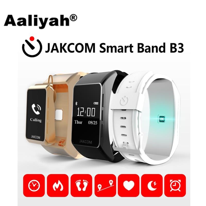 imágenes para [Aaliyah] Jakcom B3 Inteligente Pulseras Banda de Presión Arterial Bluetooth Monitor de Ritmo Cardíaco Rastreador de Ejercicios Sleep Para iOS Android