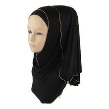 Women Scarf Full Cover Inner Muslim Cotton Hijab Cap Islamic Head Wear Hat Underscarf
