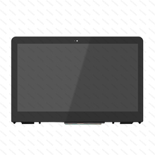 New For HP Pavilion 856018-888 856019-001 856018-001 13.3 FHD HD LED LCD Touch Screen Digitizer Assembly With Frame 15 6 genuine new for hp pavilion 2000 laptop lcd full screen replacement led display monitor matrix wxga hd glossy 689690 001