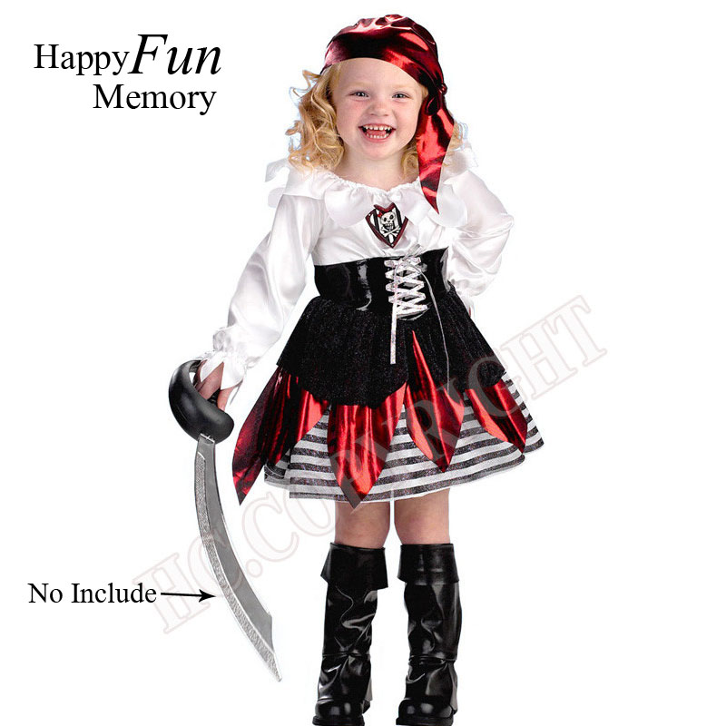 Pirates Costumes For Kids Girls-1343