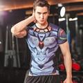 Men's Compression Fitness T Shirt, Movie Hero Raytheon T-shirt