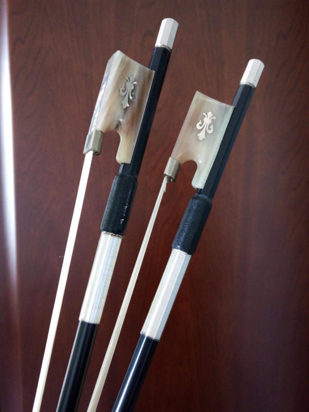 1pc NEW 4/4 Carbon Fiber Violin Bow Pernambuco Performance Straight