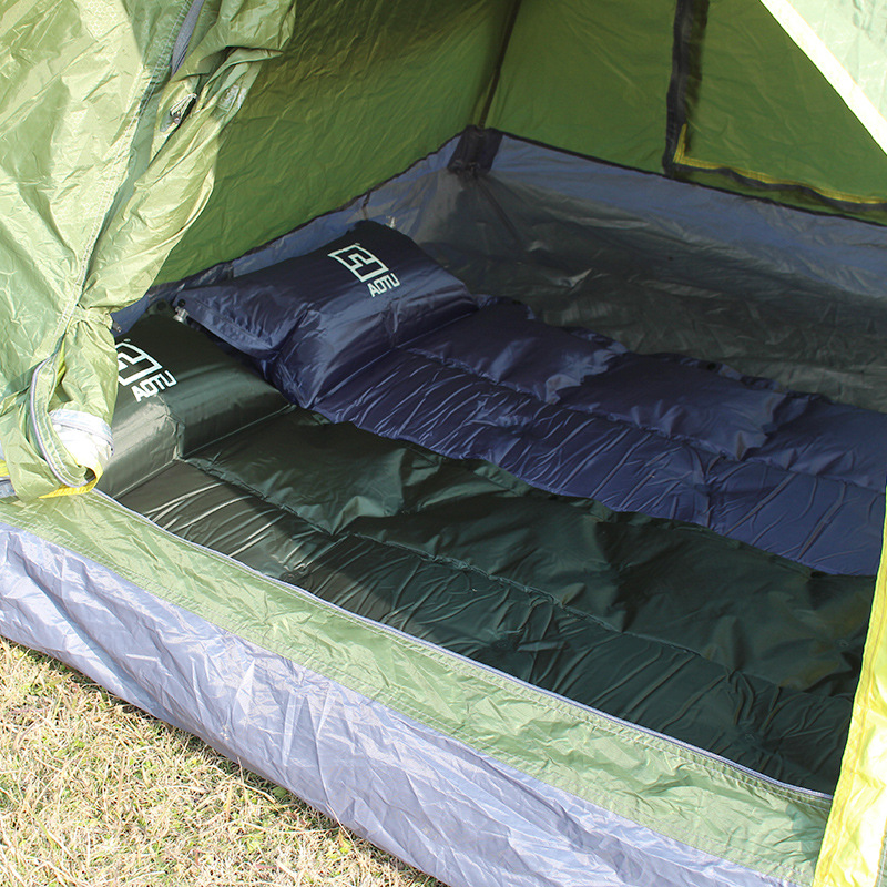 AUTO outdoor c&ing splicing automatic inflatable mat c&ing bed tent sleeping single pad(China ( & Online Get Cheap Inflatable Camp Bed -Aliexpress.com | Alibaba Group