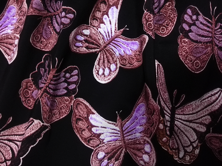051833426ec4 Fashion Summer Style Butterfly Print Women Dress Party Evening Elegant Vintage  Sleeveless Dress Black Vestidos De Festa Robe-in Dresses from Women s ...