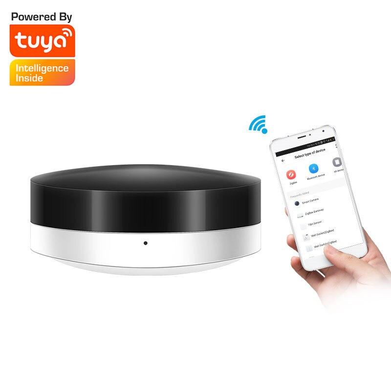 Tuya app controle remoto sem fio inteligente de automação residencial wi fi + ir interruptor universal mini para iphone ios android 3