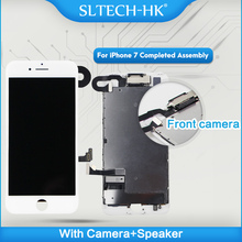 הרכבה מלאה עבור iPhone 7 LCD הושלם עם מצלמה רמקול עבור iPhone 8 בתוספת החלפת מסך תצוגה עם 3D מגע מזהה