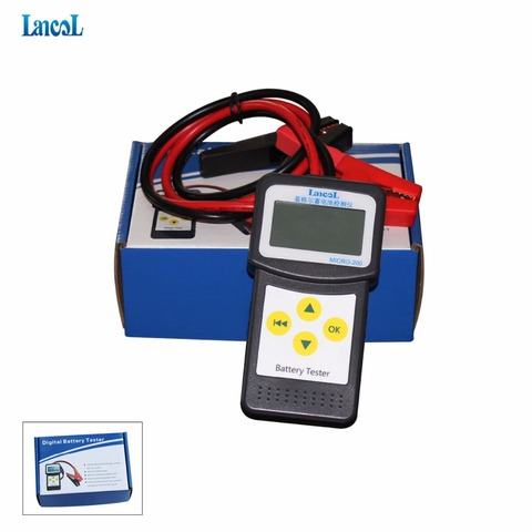 Lancol MICRO 200 Automotive Battery Analyzer Checker Battery Car Battery Measurement Unit Portable Vehicle Battery Tester Tool Pakistan