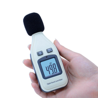 Benetech GM1351 цифровой измеритель уровня звука децибел Logger Тестер 30-130dB шума в децибелах ЖК анализатор тестер (без коробки)