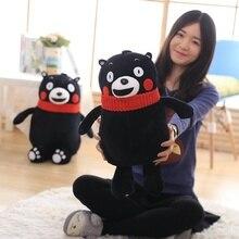 Janpanese Anime Kumamon Bear Plush Toys Kawaii Mascot Stuffed Kumamoto Animals Kids Soft Dolls 50/60/70cm