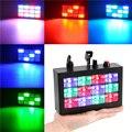 KTV Flash Light Sound Control Farbige Wasserfall Blinkende LED Strobe Lampe Di Bar Bühne Licht Wirkung Lampe