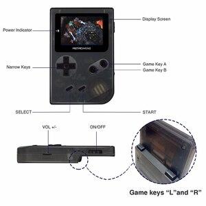 Image 5 - Coolbaby Retro Trò Chơi Giao Diện Điều Khiển 32 Bit Xách Tay Mini Chơi Game Cầm Tay Được Xây Dựng Trong 169 Cho GBA Trò Chơi Cổ Điển Quà Tặng Đồ Chơi Cho trẻ em
