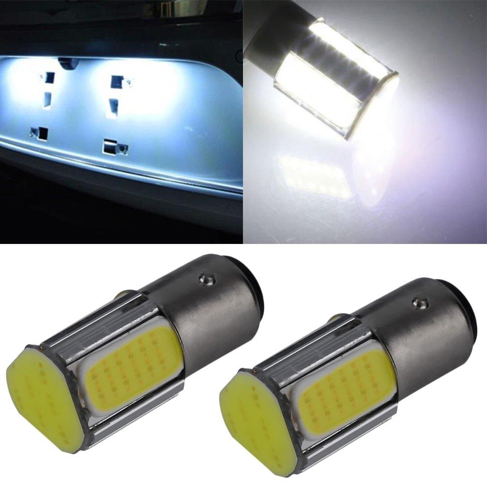 10 шт. Авто Свет Белый 1157 15D 4 светодиодный задний тормоз свет лампы автомобиля