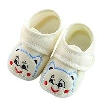 Toddler Baby Cute Shoes Newborn Girls Boys Soft Soled Lovely Kids Crib Shoes Prewalker M1