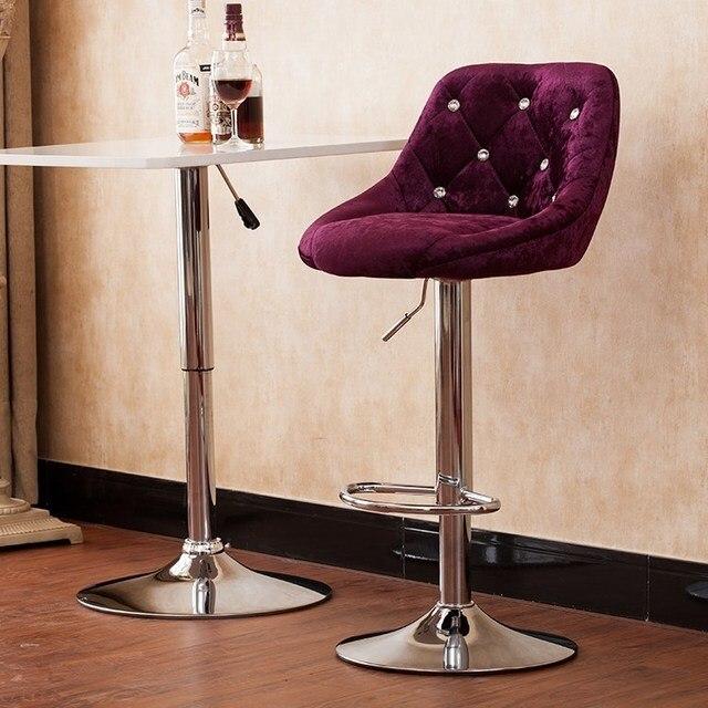 Wijn kleur bar rotatie stoel boss woonkamer kruk huishoudelijke ...