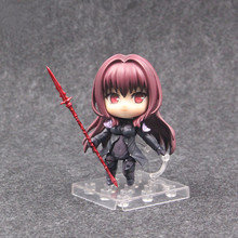 Anime Nendoroid 743 Fate / Grand Order Lancer Scathach Cute Action Figures PVC Doll Pvc Collection Model Toys Gifts
