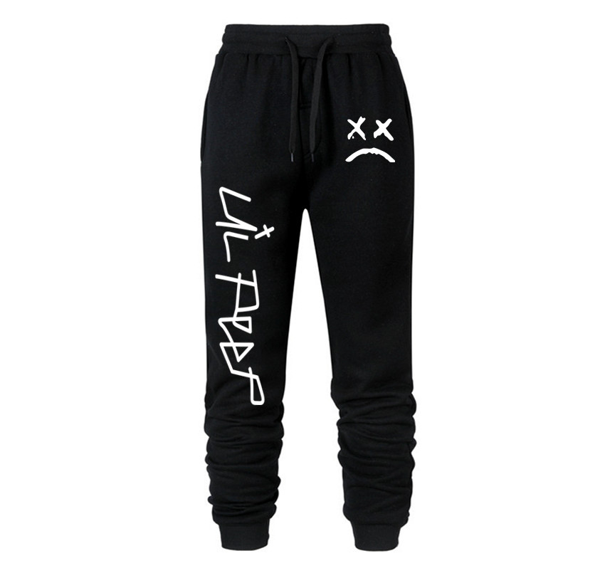 Male Trousers Sweatpants Hip-Hop-Pants Mens Joggers Lil.peep Large-Size Multi-Pocket