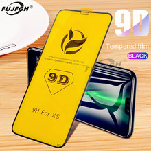 9D Tempered Glass For iPhone 6 6S 7 8 Plus X Glass on iPhone 7 6 8 X XR XS MAX Screen Protector iPhone 7 8 6 X Protective Flim militech 6 x 8