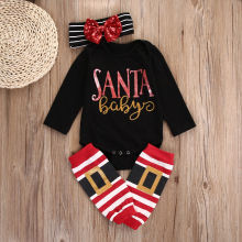 New Baby Boys Girls Jumpsuit Bodysuit + Pants Clothes Outfits 3Sets DE