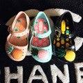 Ins hot summer crianças mini melissa meninas abacaxi verão geléia sapatos sandálias de bebê sapatos de bebê sapatas dos miúdos sapatos yeezy