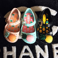 Ins hot summer kids mini melissa chicas piña fruta jalea del verano sandalias del bebé zapatos de bebé zapatos de niños zapatos zapatos yeezy