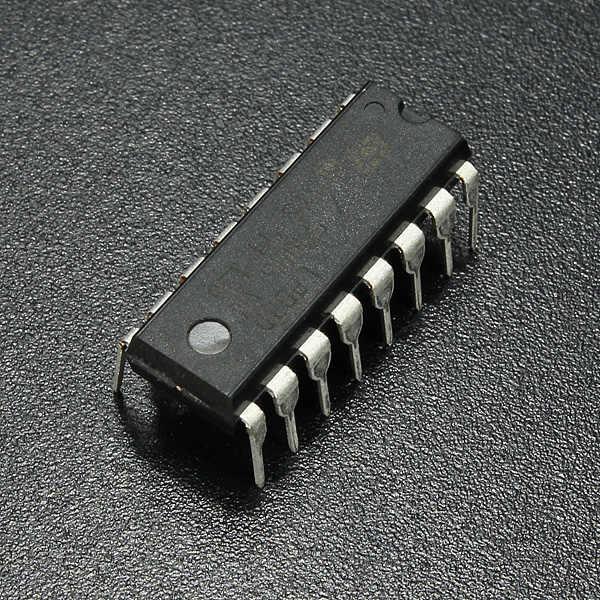 L293d l293 l293b dip/sop push-pull quatro-channel driver de motor deslizante ic chip