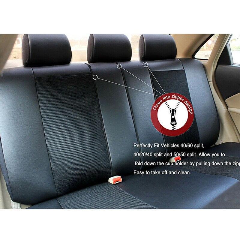 Housse de siège Auto accessoires protecteur de siège pour toyota avensis t25 t27 caldina camry 40 50 2007 2008 2009 2012 2018 vios - 6