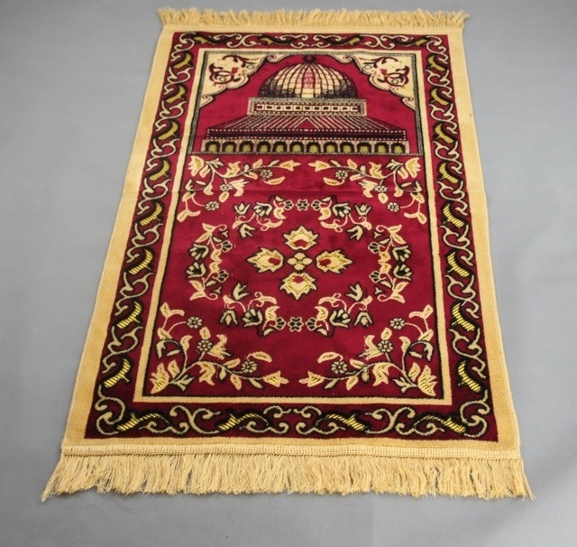 New Ic Muslim Prayer Mat Blanket Salat Mus Rug Tapis Carpet Tapete Banheiro Praying