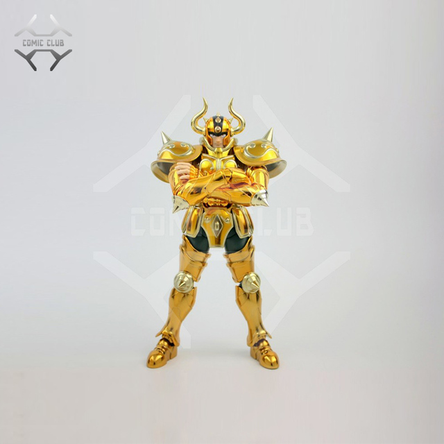 COMIC CLUB IN STOCK  METAL CLUB  metalclub MC S Temple ST Aldebaran Taurus Saint Seiya cloth Myth EX Gold Saint OCE Metal armor
