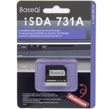 BASEQI Original Aluminum Minidrive Microsd Card Readers 731A For Dell XPS 13inch Card Drive Adapter