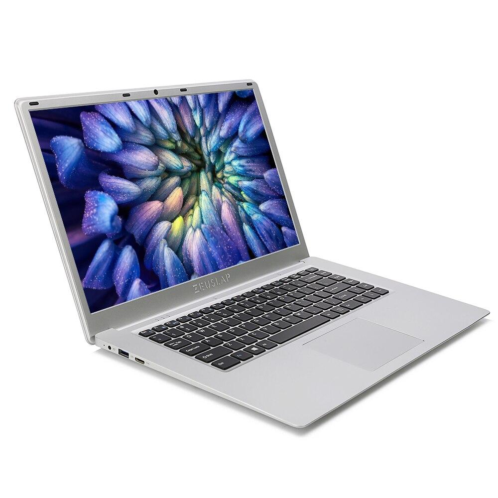 ZEUSLAP 15,6 дюймов 6 ГБ ОЗУ 2 ТБ HDD 1920x1080 P Intel 4 ядра Процессор Windows 10 Системы Wi-Fi bluetooth ноутбук Тетрадь компьютер