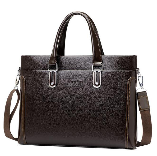 08270317 Yesetn Bag Men Fashion Leather Business Bag Briefcase