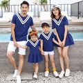 2017 Family Set Cotton Mother Daughter Dresses Father Son Clothes Sets Family Matching Outfit Parent-Child Clothing 3XL HH20