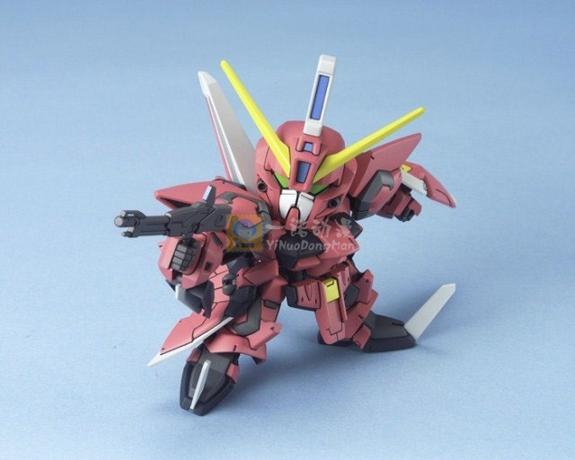 Bandai Gundam SD BB 261 GAT X303 Aegis Model Kit 24124 In Action Toy Figures From Toys Hobbies On Aliexpress